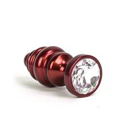 KIOTOS Aluminum Alloy Anal Plug 1 - Red