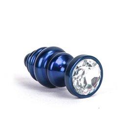 KIOTOS Aluminum Alloy Anal Plug 1 - Blue