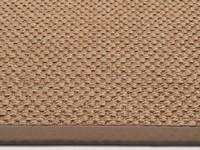 sisal teppich havard 21 grau mit baumwollbord re floorpassion. Black Bedroom Furniture Sets. Home Design Ideas