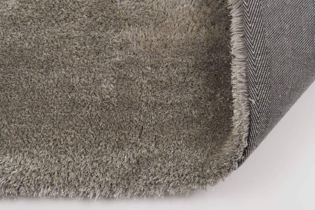 hochflor teppich ross rund 21 grau floorpassion. Black Bedroom Furniture Sets. Home Design Ideas