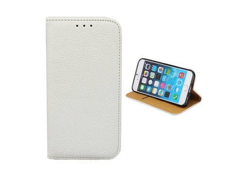 Bookcase PU iPhone 8/7 Plus Wit