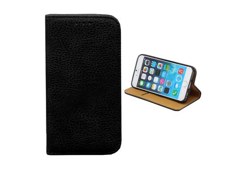 Bookcase PU iPhone 8/7 Plus Zwart