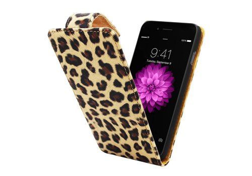 Business Color Case iPhone 6 Luipaard print