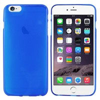 CoolSkin3T Hoes voor Apple iPhone 6 Plus Transparant Blauw
