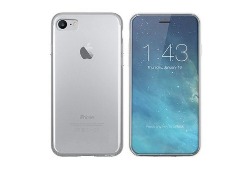 CoolSkin3T iPhone 8/7 Transparant Wit