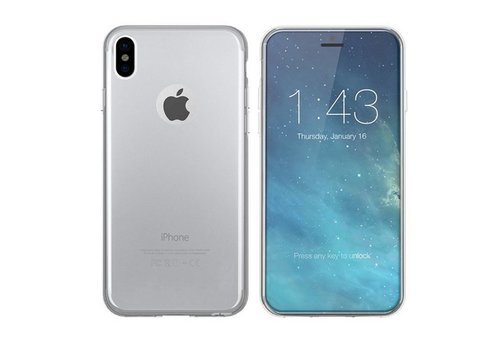 CoolSkin3T iPhone X/Xs Transparant Wit