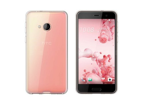CoolSkin3T HTC U Play Transparant Wit