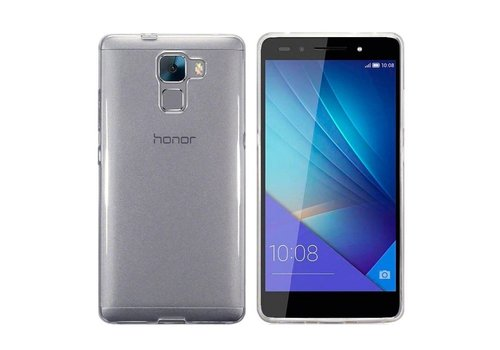 CoolSkin3T Huawei Honor 7 Transparant Wit