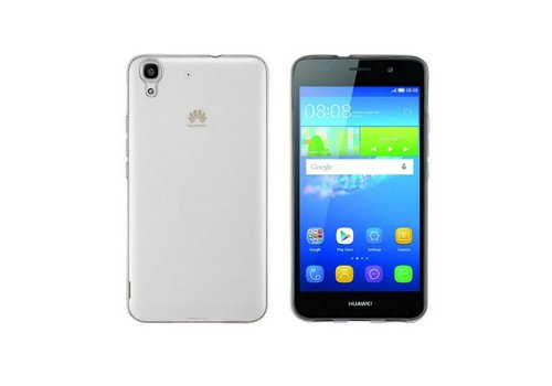 CoolSkin3T Huawei Y6 II Transparant Wit
