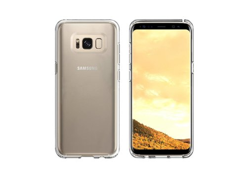 CoolSkin3T Samsung S8/S8 Duos Transparant Wit