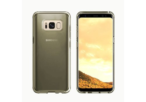 CoolSkin3T Samsung S8/S8 Duos Transparant Zwart