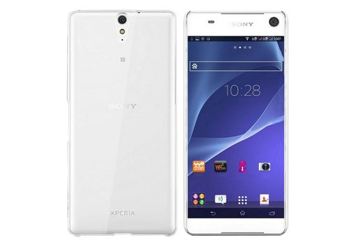 CoolSkin3T Sony Xperia C5 Transparant Wit