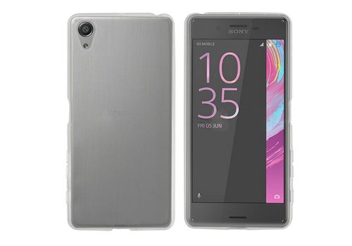 CoolSkin3T Sony Xperia X Performance Transparant Wit