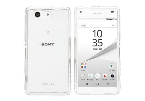 CoolSkin3T Sony Xperia Z5 Compact Transparant Wit