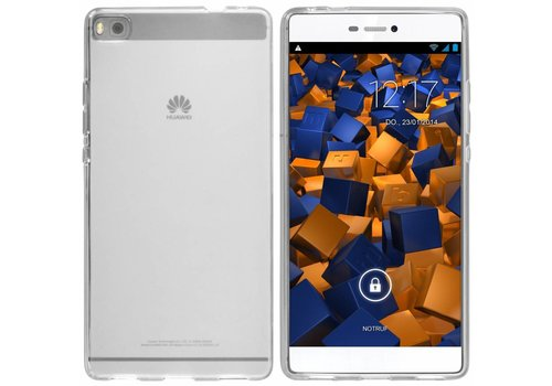 CoolSkin3T Huawei P8 Transparant Wit