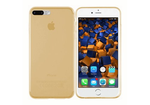 CoolSkin3T iPhone 8/7 Plus Transparant Goud