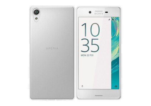 CoolSkin3T Sony Xperia X Transparant Wit