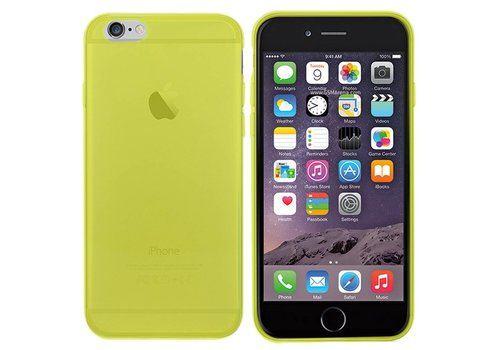 CoolSkin3T hoes iPhone 6 Transparant Geel