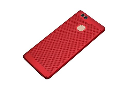 Hoes Mesh Holes Huawei P10 Lite Rood