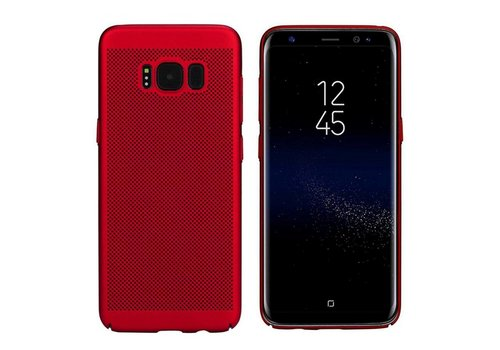 Hoes Mesh Holes Samsung J7 2016 Rood