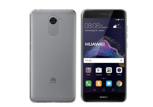 CoolSkin3T Huawei Y7 Transparant Wit