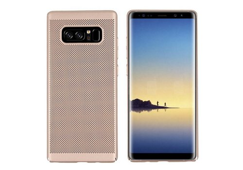 Hoes Mesh Holes Samsung Note 8 Goud