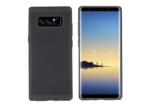Hoes Mesh Holes Samsung Note 8 Zwart