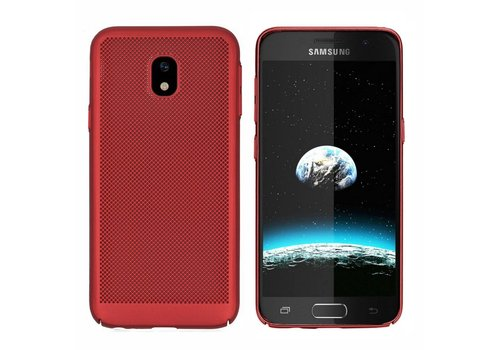 Hoes Mesh Holes Samsung J5 2017 Rood