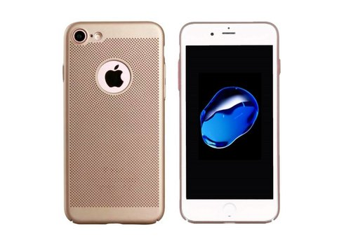 Hoes Mesh Holes iPhone 8 Plus Goud