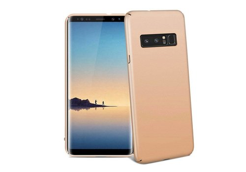 Hoes Mat Samsung Note 8 Goud