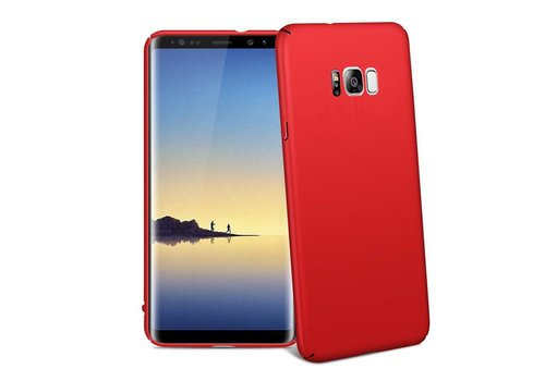Hoes Mat Samsung S8 Rood
