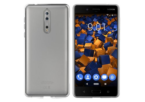 CoolSkin3T Nokia 8 Transparant Wit