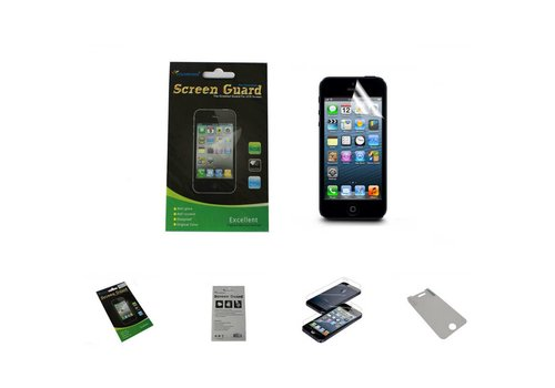 Screenprotector Clear iPhone 5/5S Transparant