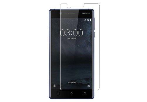 Glass 9H (0.3MM) Nokia 3 Transparant