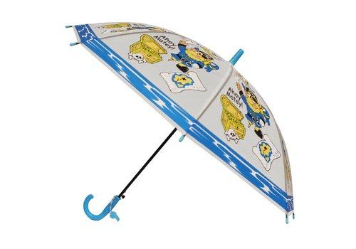 Kinder Paraplu Ø78cm Blauw Geel