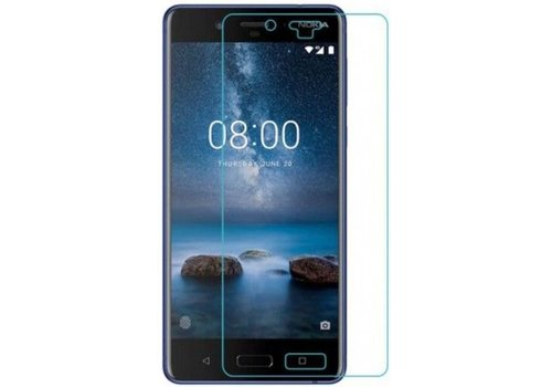 "Tempered Glass 9H (0.3MM) Nokia 8 (5.3"") Transparant"