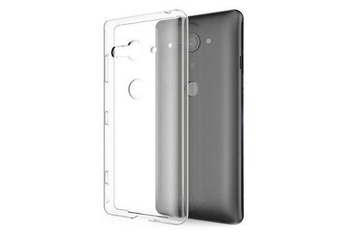 CoolSkin3T Sony Xperia XZ 2 Compact Transparant Wit