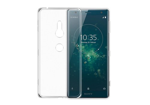 CoolSkin3T Sony Xperia XZ 2 Transparant Wit
