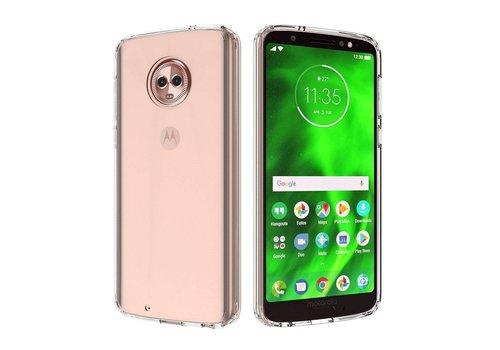 CoolSkin3T Motorola Moto G6 Transparant Wit