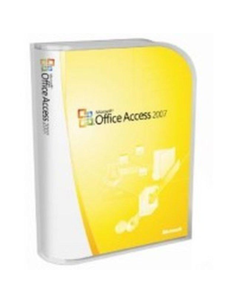 Microsoft Microsoft Office Access 2007