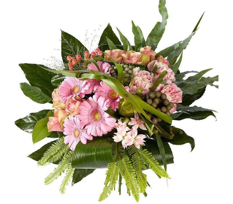 Boeket klassiek roze