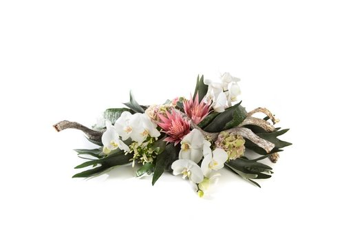 Rouwstuk orchidee