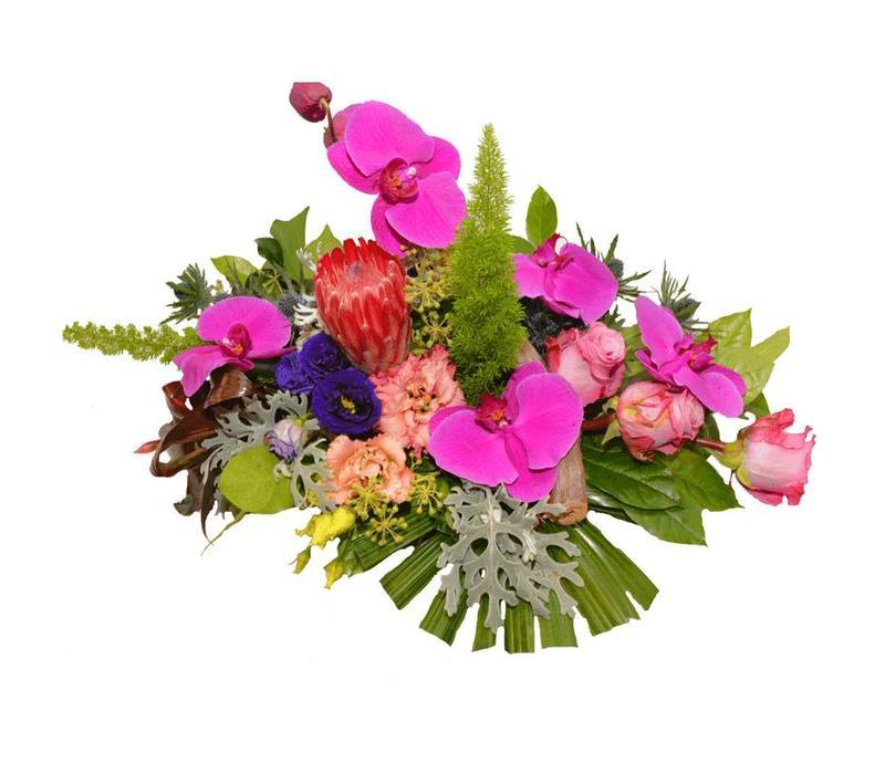 Bloementuintje lila