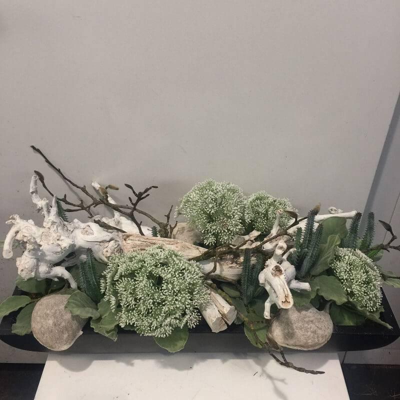 Super Zijden bloemstuk magnolia - Ron Bloemenweelde &QQ88