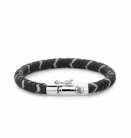 Rebel & Rose Braided Round Metal Black