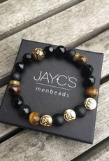 JayC's Skull Black Gold