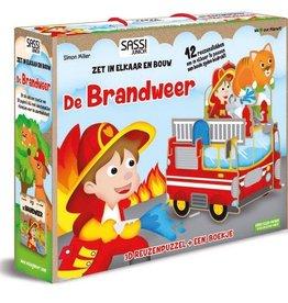 Sassi De Brandweer - 3D puzzel & boekje
