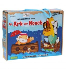 Sassi De Ark van Noach - 3D puzzel & boekje
