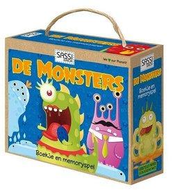 Sassi De Monsters - Memory & boekje