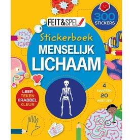Sticker- & Activiteitenboek Menselijk Lichaam